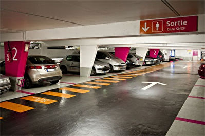 Parking  en sous-sol - MASSY ATLANTIS